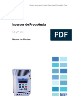 WEG Cfw 08 Manual Do Usuario 0899.5241 5.2x Manual Portugues Br