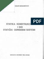 statika konstrukcija bogunovic