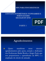 A IMPORTÂNCIA DO RPG PARA O PROCESSO DE APRENDIZAGEM. 16122011