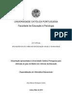Dissertação EVT Virtual