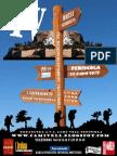 Poster 2012 IV Marxa Senderista Peníscola Sostenible