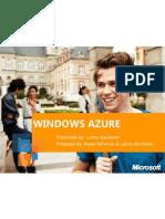 Microsoft Windows Azure - Lamis AbuSaleh