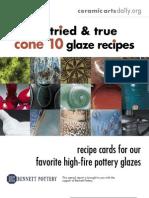 15 Cone 10 Recipes