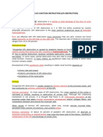 Ureteropelvic Junction Obstruction Obstruction)