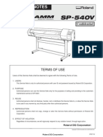 SP-540V - Manual Técnico