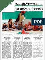 1ª EDIÇÃO - JORNAL NATÉRCIA EM NOTÍCIA - MAIO DE 2011