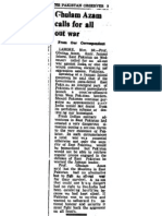 19711126 Po Ghulam Azam Calls for All Out War