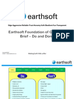 Earthsoft Brief Do and Do Not 7 Feb 2011