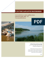 Water Quality in the LaPlatte Watershed