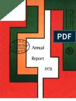 Africa Rice Annual Report 1978