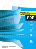 Book Industry Strategy Group | Final Report Sept 2011