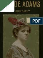 [1907] Ada Patterson - Maude Adams; A Biography