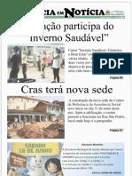 2ª EDIÇÃO - JORNAL NATÉRCIA EM NOTÍCIA - JUNHO DE 2011