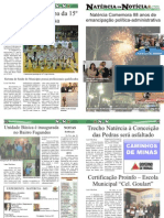 3ª EDIÇÃO - JORNAL NATÉRCIA EM NOTÍCIA - JULHO DE 2011
