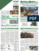 4ª EDIÇÃO - JORNAL NATÉRCIA EM NOTÍCIA - AGOSTO DE 2011