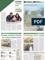 6ª EDIÇÃO - JORNAL NATÉRCIA EM NOTÍCIA - OUTUBRO DE 2011