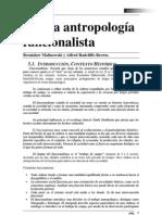 Abenza David - La Antropologia Funcionalista