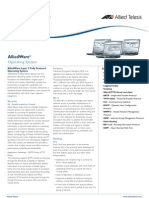 Allied Ware Datasheet RevZA
