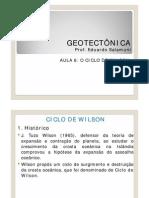 Geotectonica - O Ciclo de Wilson
