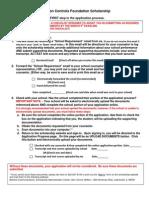 Student Checklist PDF