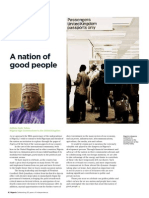 Nigeria at 50 - High Commissioner London foreword