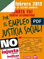 29 FEB Manifiesto Empleo y Justicia Social