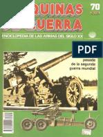 Mdg 070 Artilleria Pesada de la Segunda Guerra Mundial
