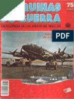 Mdg 075 Aviones Contrabuque de la Segunda Guerra Mundial