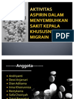 Aktivitas Aspirin Dalam