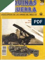 Mdg 076 Proyectiles Cohete de la Segunda Guerra Mundial