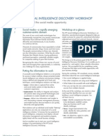HP Social Intelligence Discovery Workshop