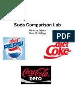 Soda Comparison Lab1