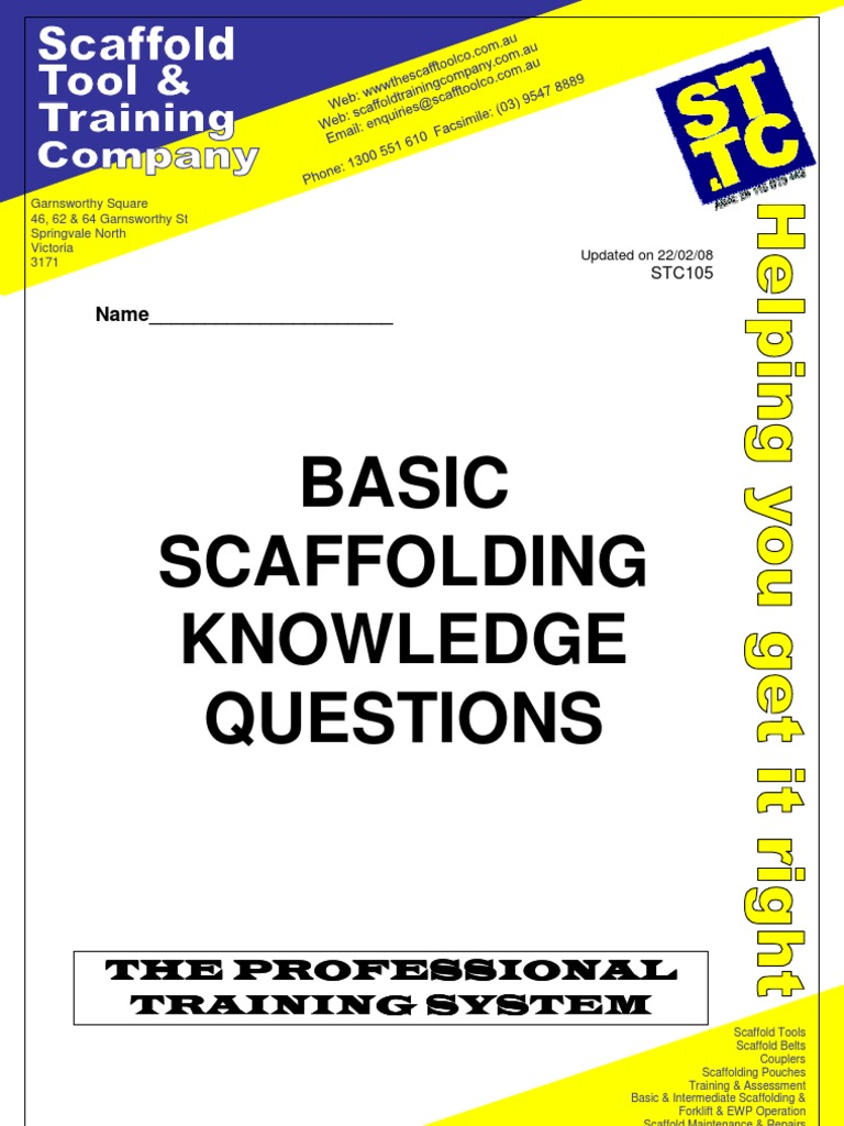 Basic scaffolding questions answers scaffolding equipment fandeluxe Gallery