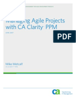 CA Clarity Ppm for Agile Development Projects