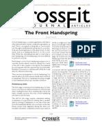 CFJ - Front Hand Spring