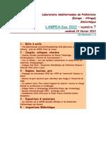LAMPEA-Doc 2012 – numéro 7 / vendredi 24 février 2012