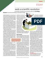 Artículos de Nature sobre modelos económicos basados en agentes