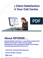UAL Call Center Consultancy