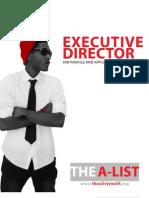 The A-list Executive Director Job Profile