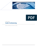 Audio Conferencing Guide