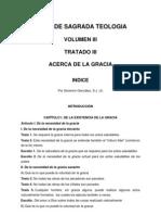 Teología Vol III Tratado III Acerca de la Gracia