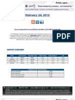 ValuEngine Weekly Newsletter February 24, 2012