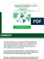 November 7 Revised Draft Rio Sucio