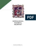 GENEOLOGIJA PLEMENA FILIPOVIĆ