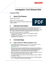 TEMS Investigation 13.0.2 Release Note