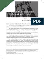 Estrutura e organização da justiça do trabalho