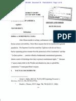 US v. Bout Prison Order-1