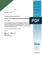 TALD 2011 CPNI Compliance Report