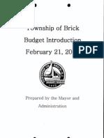 2012 Mayor Budget