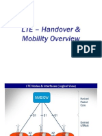 LTE – Handover & Mobility Overview